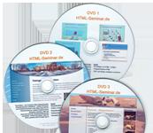 Videokurs HTML + CSS + Webdesign erstellen