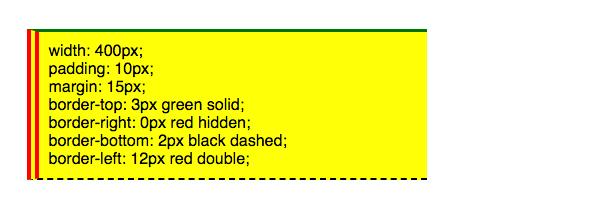 Beispiele Fur Die Anwendung Des Box Modells Html Lernen