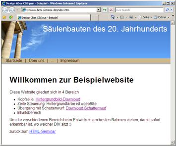 Html Website Design Templates