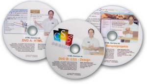 Video Tutorial HTML5/CSS3 und Webdesign