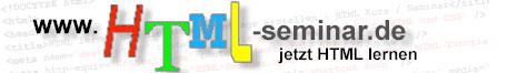 html-seminar.de - jetzt HTML lernen